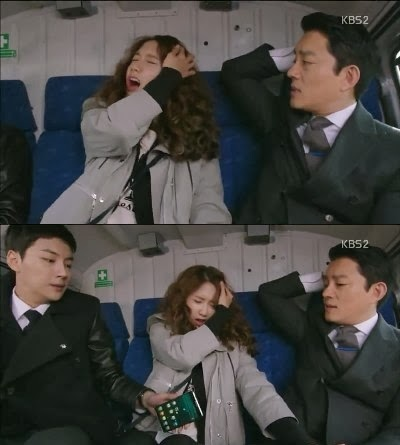 Yool kembali menyuruh Da Jung untuk menekan tombol. Da Jung menekan