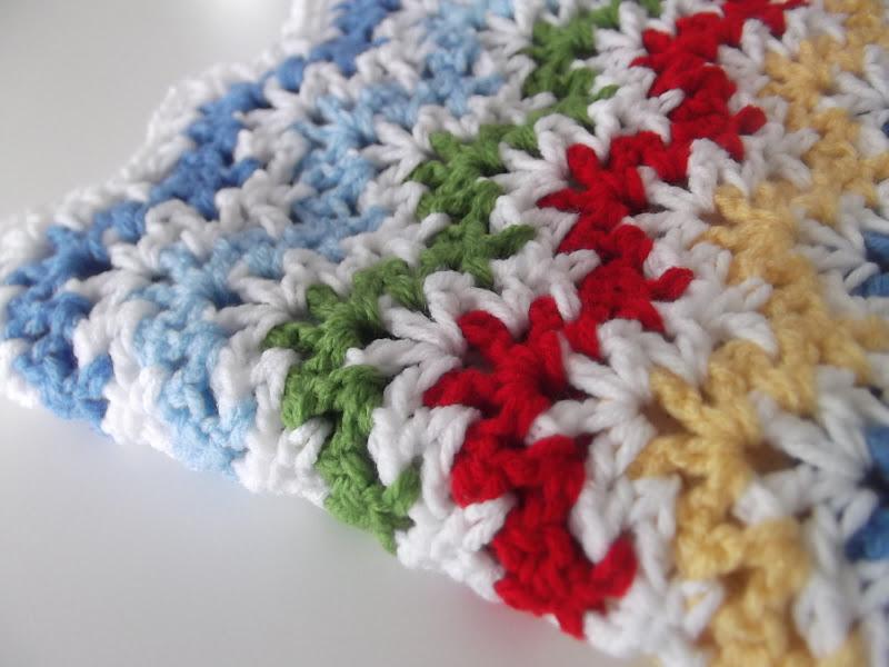 Vintage Ripple Crochet Afghan Pattern : Apple Blossom Dreams: Vintage Ripple WIP