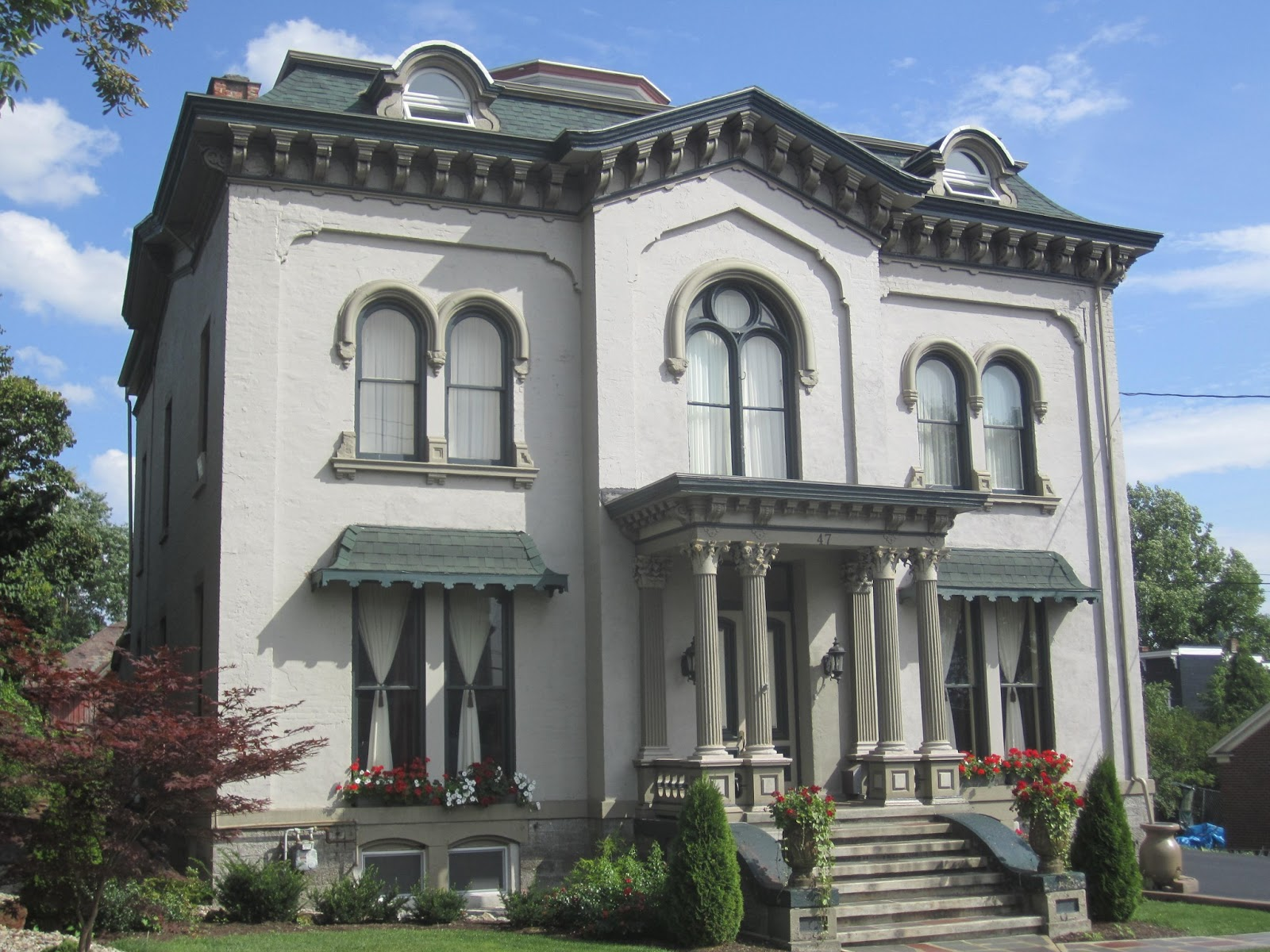 The picturesque style italianate architecture the john for Home architecture
