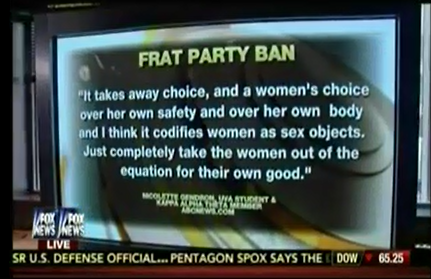 """Fox Host Suggests Some Campus Sexual Assault Victims Are """"Bad Girls...Who Like To Be Naughty"""""""