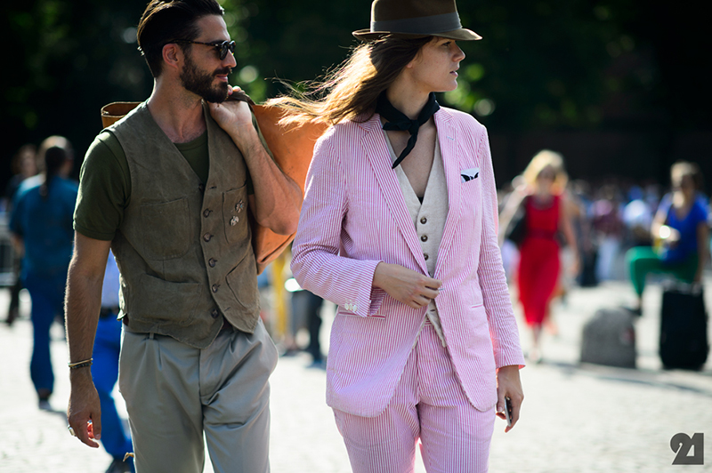 how to wear a hat-Max Poglia + Ashley Owens | Florence-le21éme