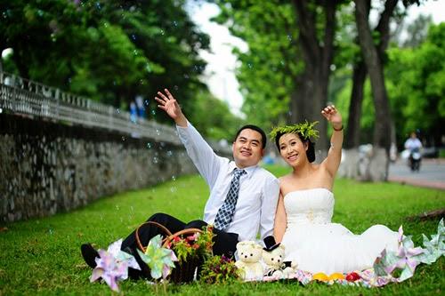 Những địa điểm chụp ảnh cưới lý tưởng tại Hà Nội