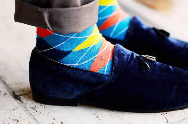 Socks, Velvet, Shoes, Menswear, New York, Street Style, Plaid Socks