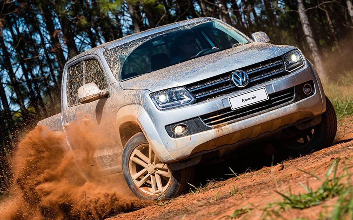 picape Amarok Volkswagen 2015 - Controle de Tração