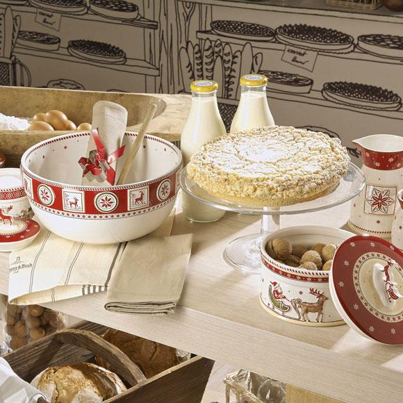 5 ideas para decorar la cocina en navidad for Vajillas para navidad