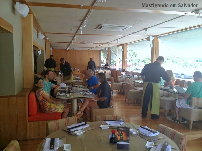 Soho Restaurante: Ambiente externo da unidade do Shopping Paseo