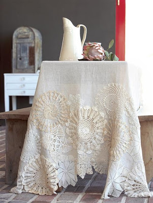 linen and doilies