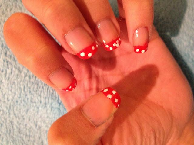 Minnie French Bridal Manicure