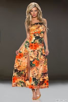 Rochie SummerBreeze Orange