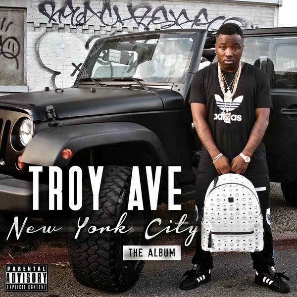 Troy Ave - New York City Cover