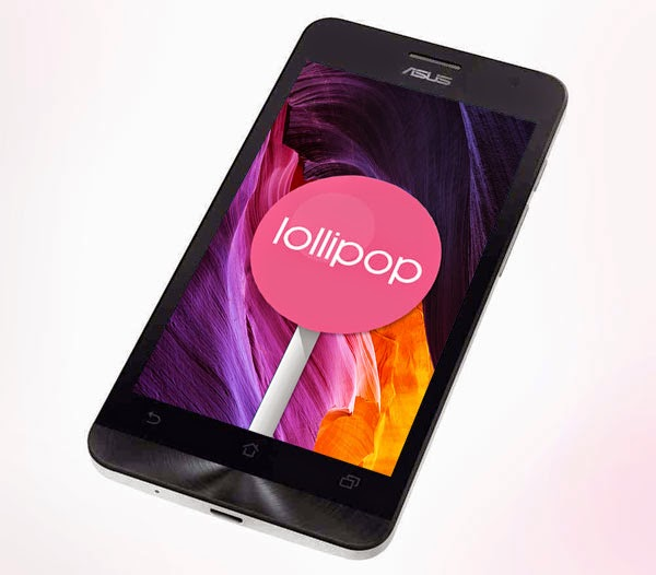Android lollipop asus zenfone 5