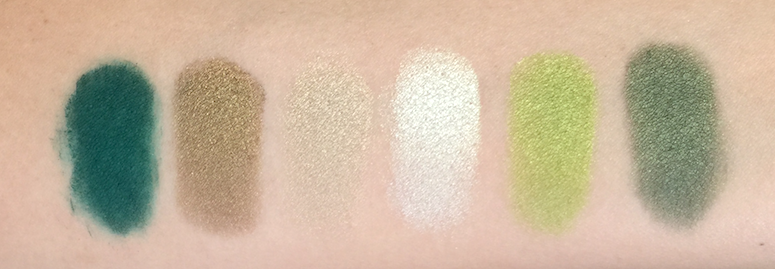 Shu Uemura Brave Beauty - Green and Orange Eye Palettes