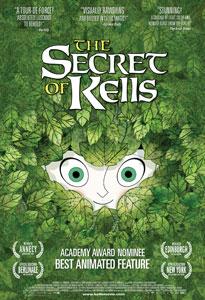 Poster original de El secreto del libro de Kells