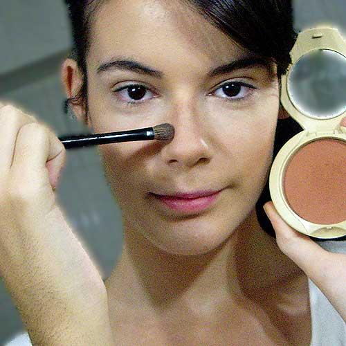 maquillaje de angel paso 1 monika sanchez contouring