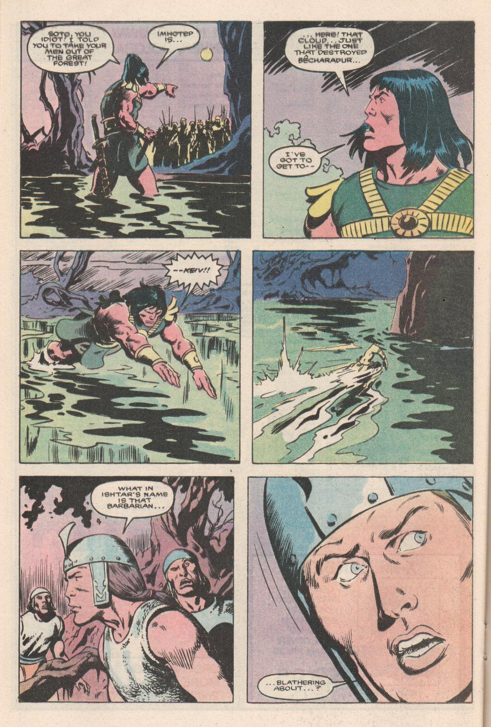 Conan the Barbarian (1970) Issue #180 #192 - English 18