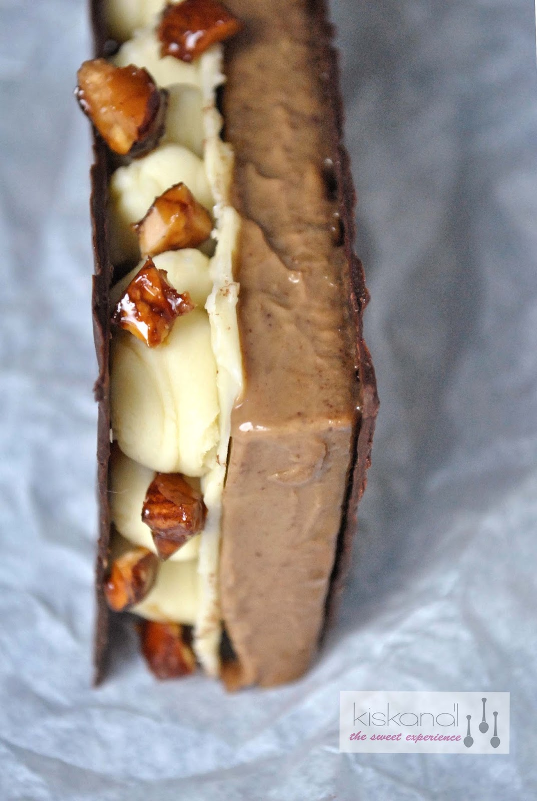 kávé creme brulee csoki szendvics