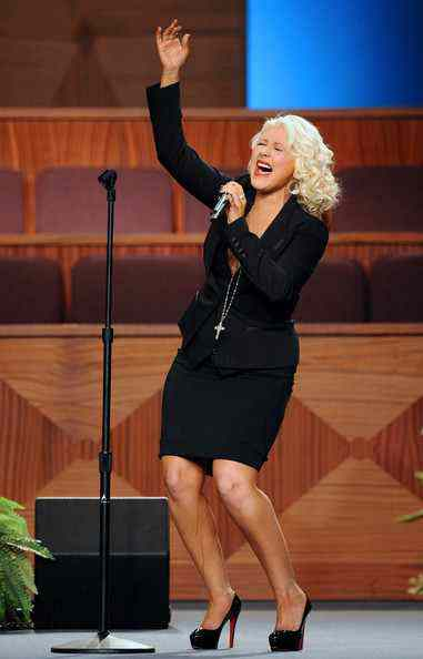 Christina Aguilera 2012 Hot Pictures