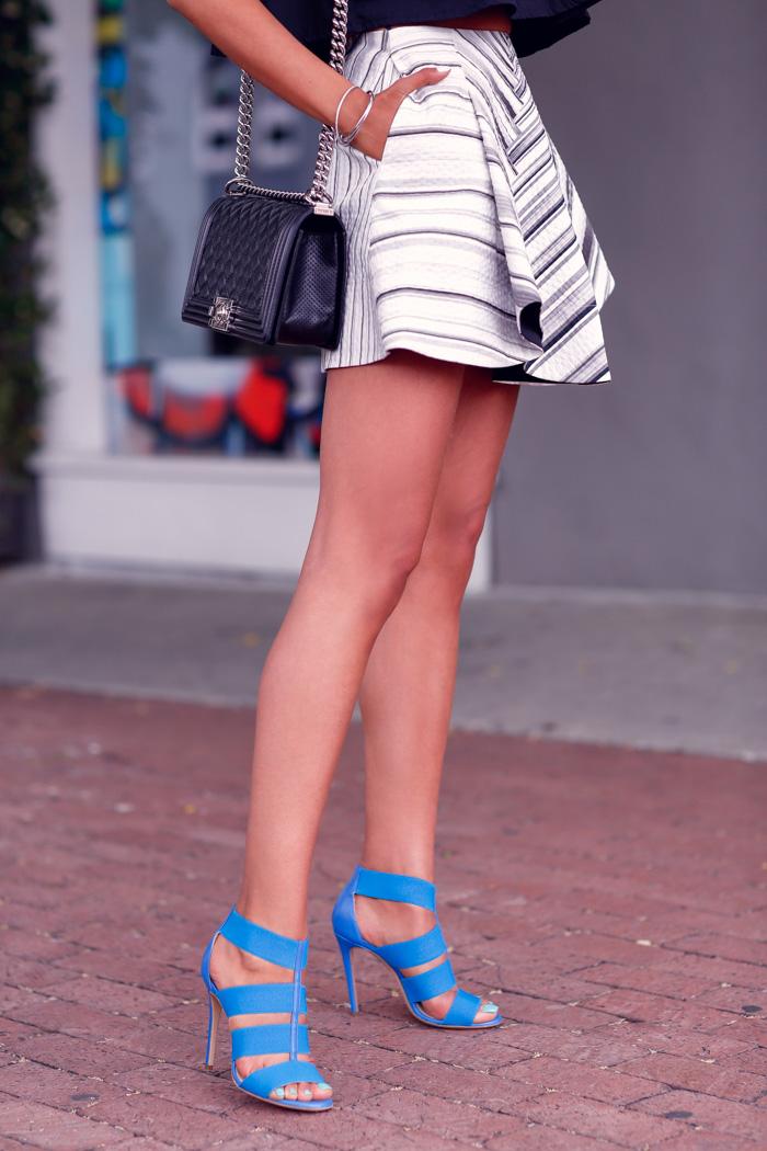 M.Gemi The Baciami sandals in Capri Blue