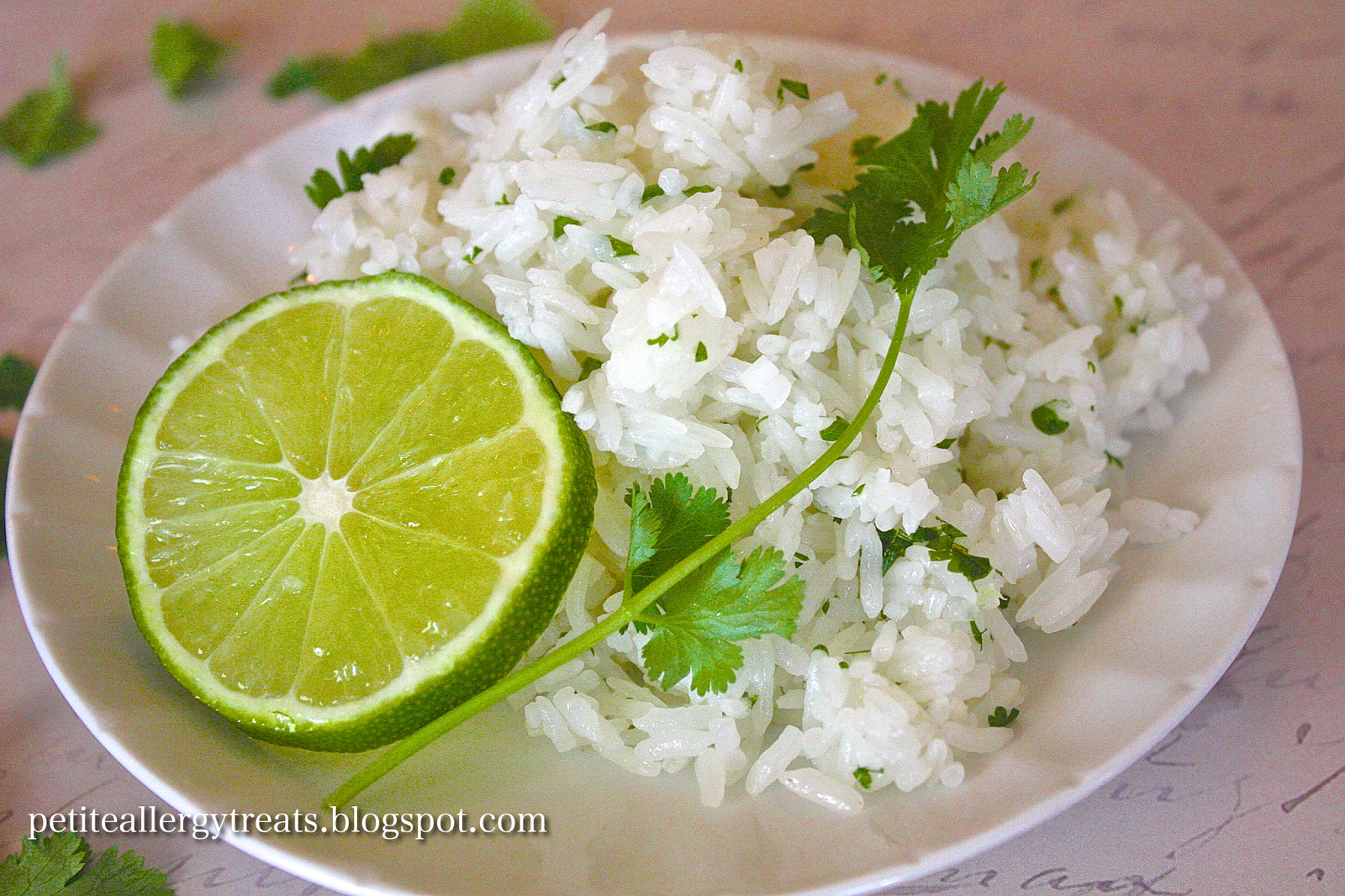 "... Treats: Gluten Free Cilantro Lime Rice ""Chipotle Copycat"" recipe"