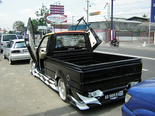 pick up best modif car contest
