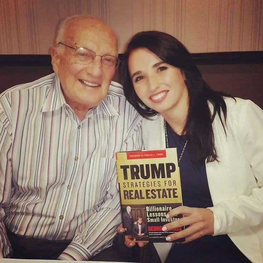 George H Ross (Donald Trumps right hand man) and Marisa da Silva