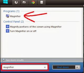 Cara Invert Warna pada Windows 7