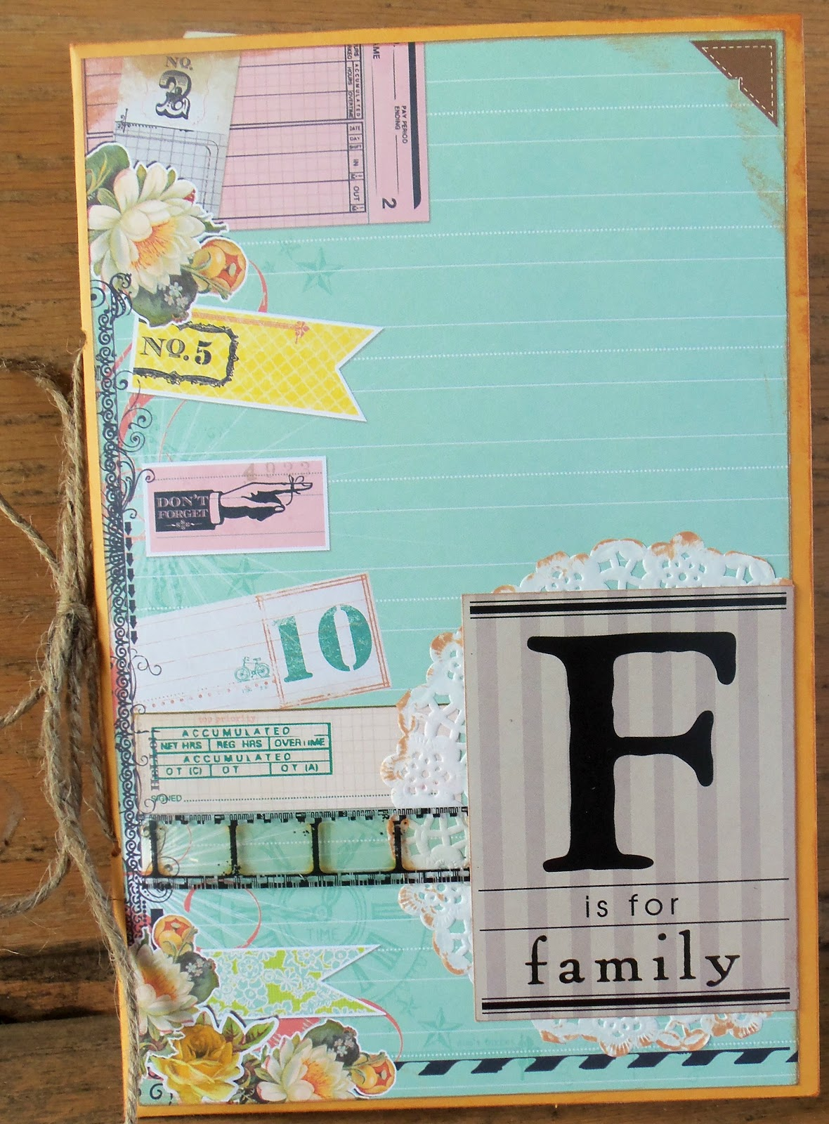 How to make scrapbook simple - Today I M Going To Show You How To Make A Simple But Very Cute Mini Scrapbook Album I Love Mini Albums And I Love Envelopes This Tutorial Combines The