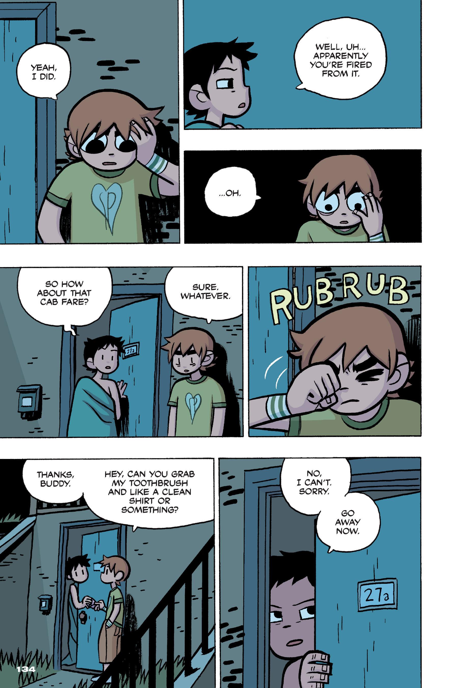 Read online Scott Pilgrim comic -  Issue #4 - 131