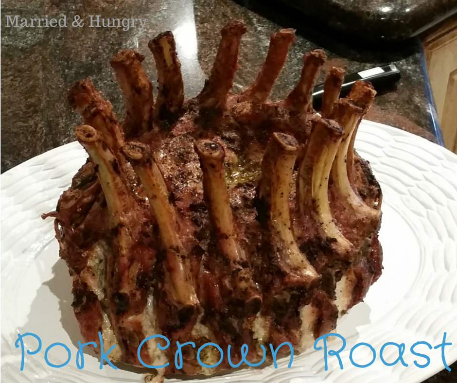 Pork Crown Roast. Easier then it looks to make and taste so good.
