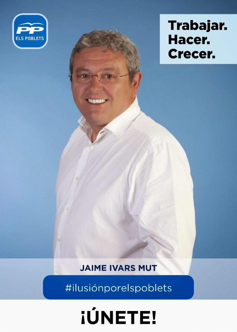 Alcalde Jaume Ivars