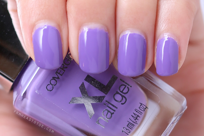 Manicure Monday: Covergirl XL Nail Gel in Plumped-Up Plum - From ...