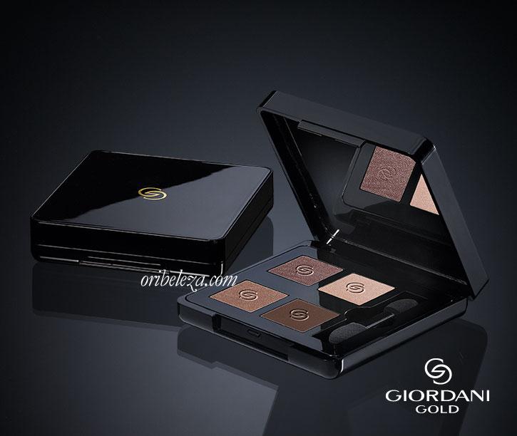 Quarteto de Sombras de Olhos Giordani Gold da Oriflame