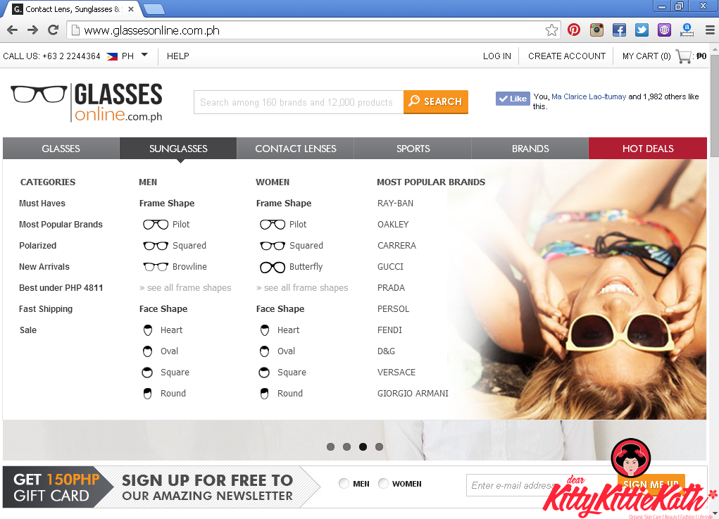 ray ban online shop xx67  Ray-Ban Wayfarer Love from Glasses Online Philippines glassesonlinecomph  website pages