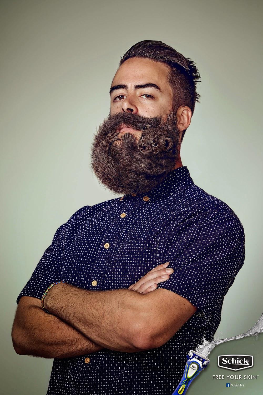 Schick beard razors