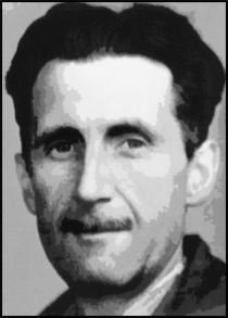 Real name: Eric Arthur Blair  Pen name: George Orwell