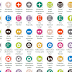 15-Butoane Social Media Personalizate-Widget Simplu