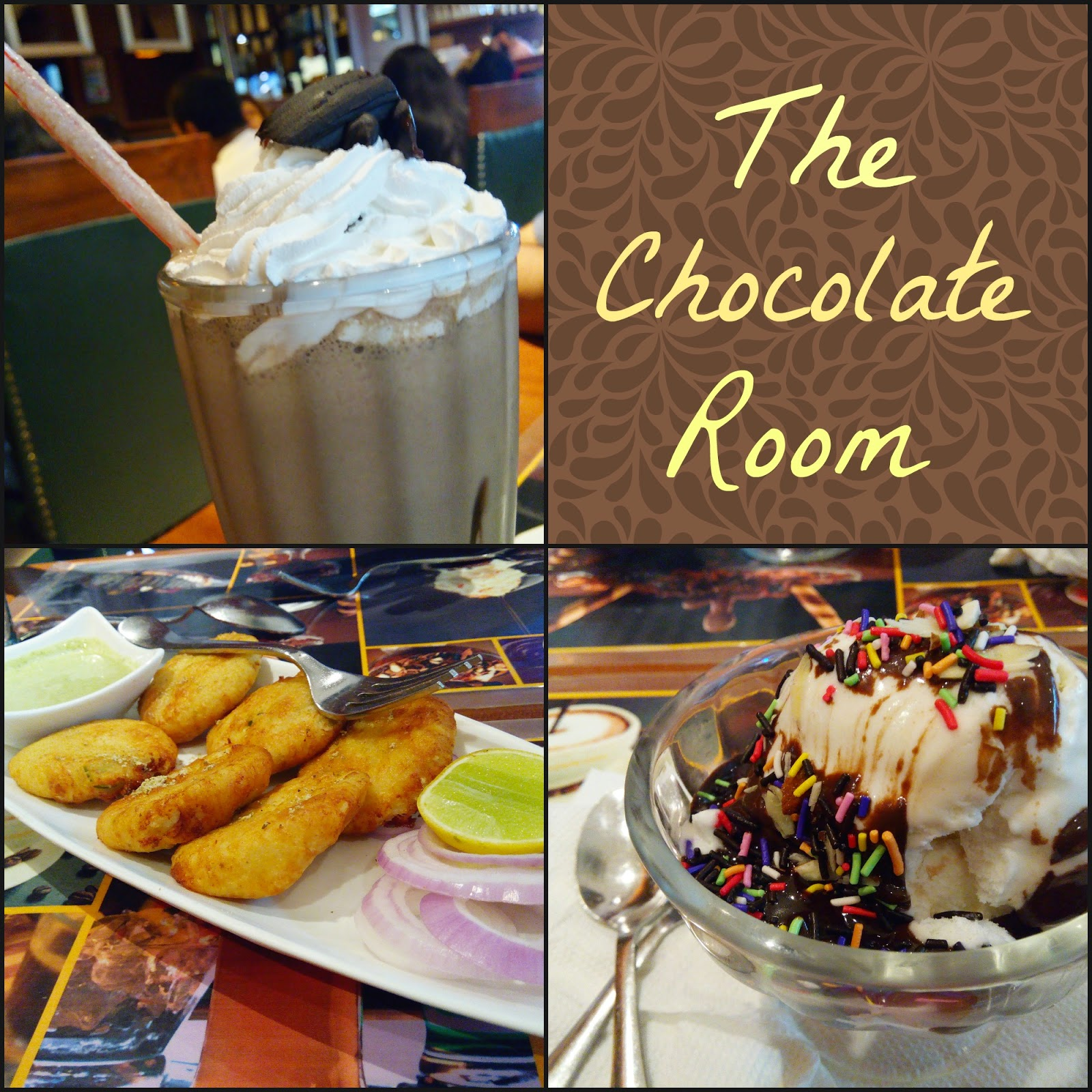 The Warm Toast: The Chocolate Room Experience
