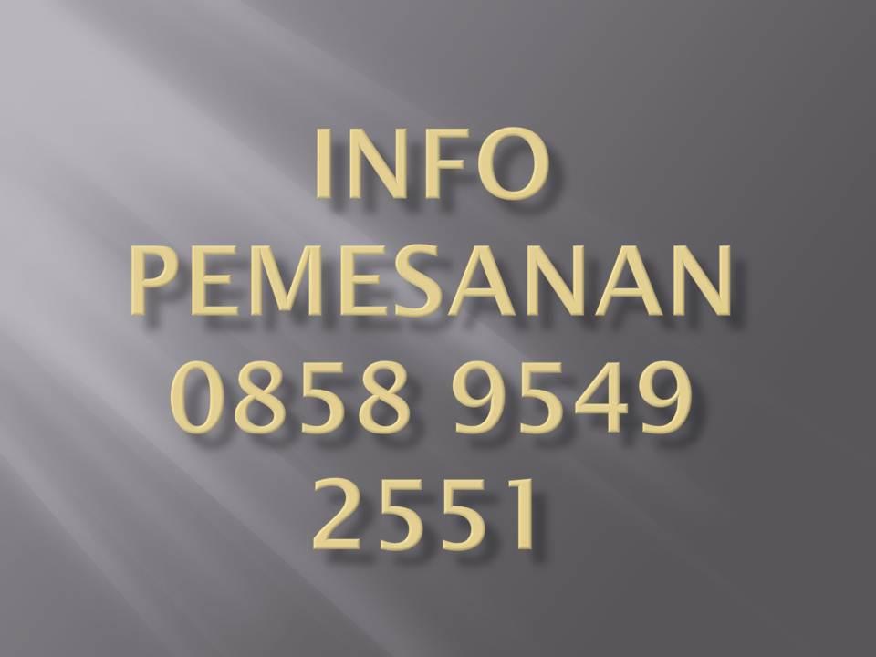 More Info Pemesanan Jasko