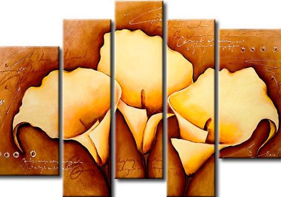 Im genes arte pinturas cuadros modernos con flores for Cuadro en lienzo modernos