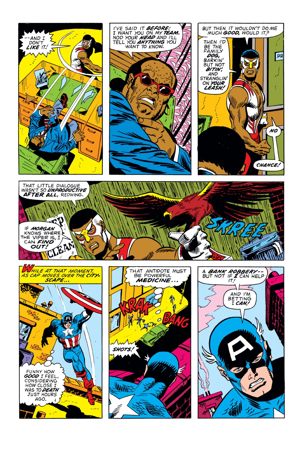 Captain America (1968) Issue #158 #72 - English 11