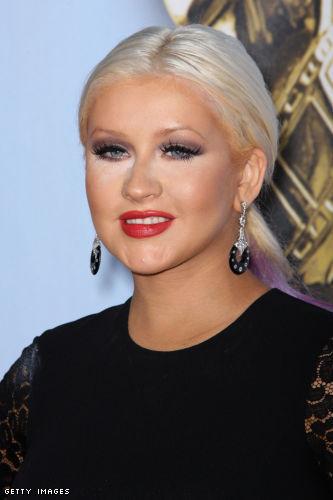 christina aguilera, alma awards 2012, makeup, maquilhagem