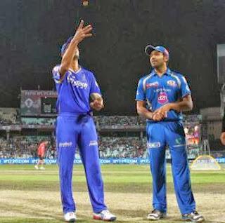 Mumbai Indians vs Rajasthan Royals Livescores, CLT20 scores 2013,