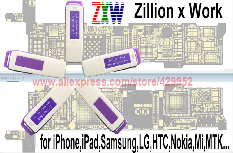 Original Zillion X Work Zxw Dongle Repair Mobile