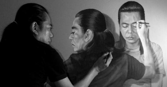 Lukisan 3D Multiself Yang Unik dan Keren Dari Seniman Indonesia