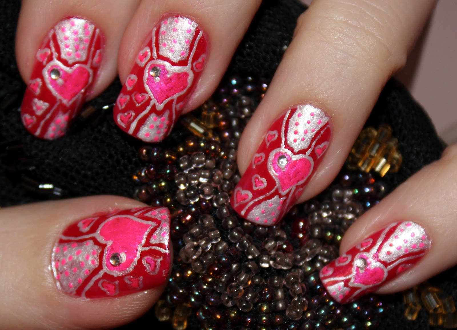 Фото дизайна ногтей на день рождения