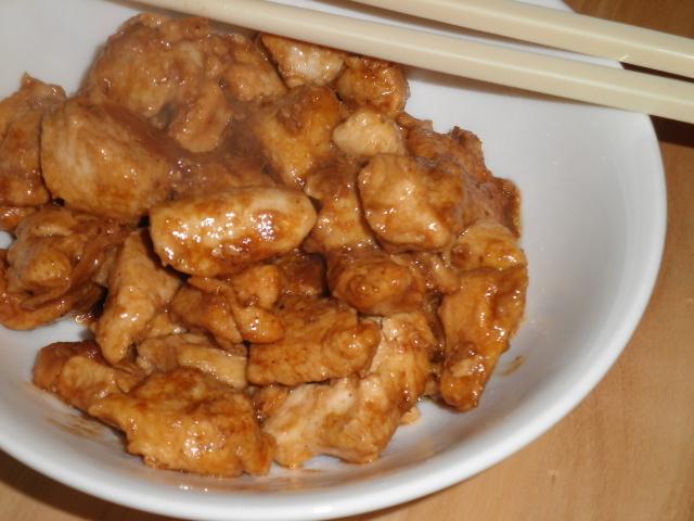 petto di pollo zenzero e soia