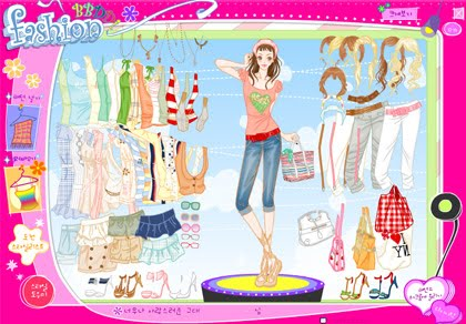 Barbie Dress up Game 38