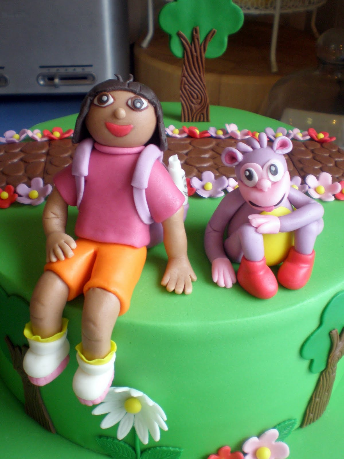 Sugar Siren Cakes Mackay Dora the Explorer Birthday Cake