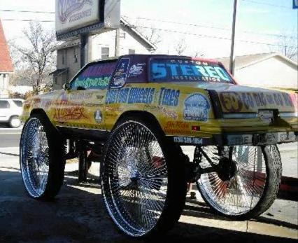 60 Inch Rims http://subypal.blogspot.com/2011/09/cutlass-donk-on-50-inch-rims.html