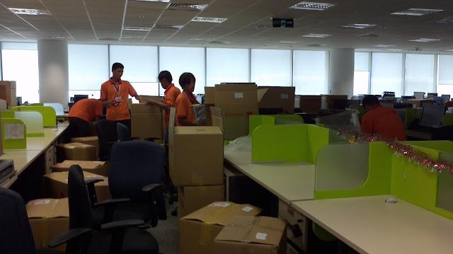 Chuyển văn phòng trọn gói, chuyển nhà trọn gói